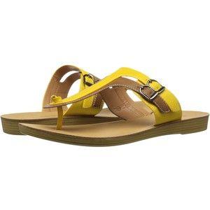 C Label Kona-3 (Yellow) Women's Sandals