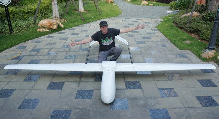 New Mugin Plus 4500mm Plane New Arrival FPV Large Flying Wing Electric / Gas RC Airplane Latest Version Drone Remote Control Toy