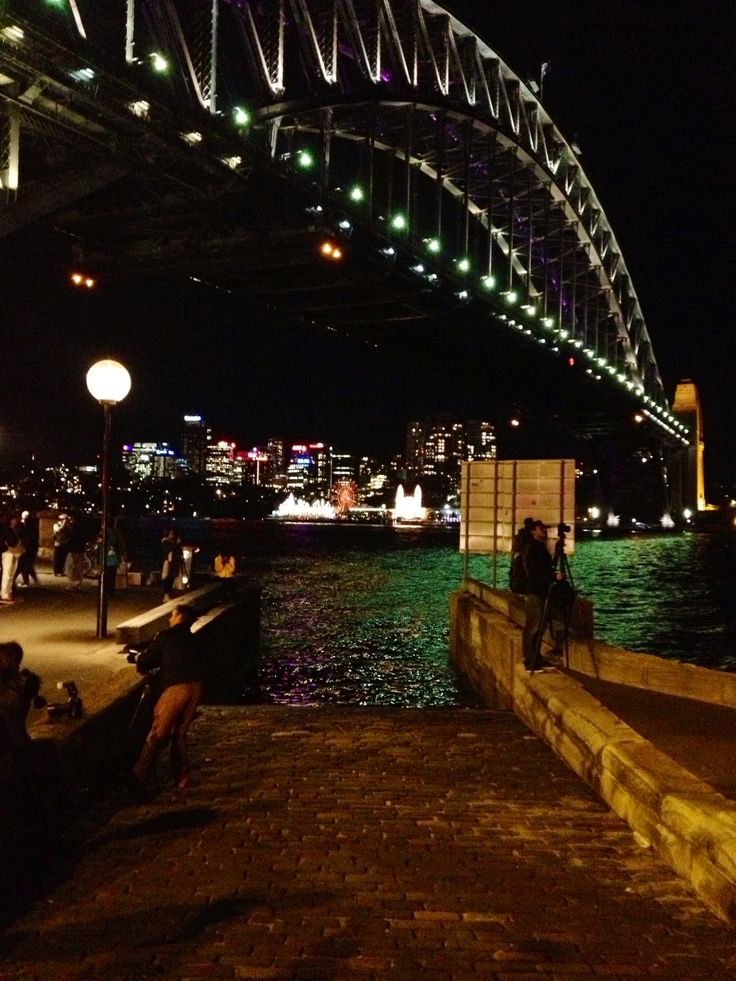 Luna Park & Harbour Bridge.