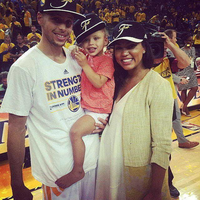 Stephen Curry's Cutest Family Snaps!