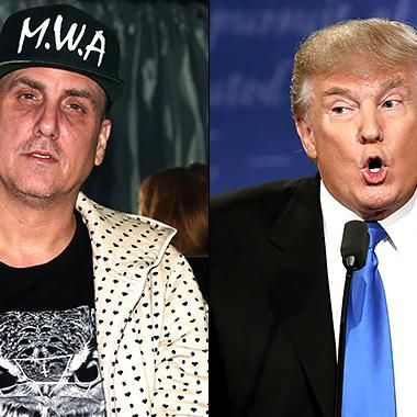 Music: Kanye West producer Mike Dean samples Donald Trump's latest comments in new track   Music on EW.com  Kanye West producer Mike Dean samples Donald Trump's latest comments in new track  When frequent Kanye West collaborator Mike Dean heard recently unearthed audio ofDonald Trump making graphic comments about women he got to work:...  Published on October 9 2016 at 01:31AM  Shared at 0 shares/hour  Read more: http://ift.tt/2dVPkDb  EW.com Music