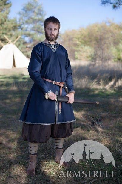 Tunique viking de coton «Bjorn le chasseur» à vendre chez ArmStreet
