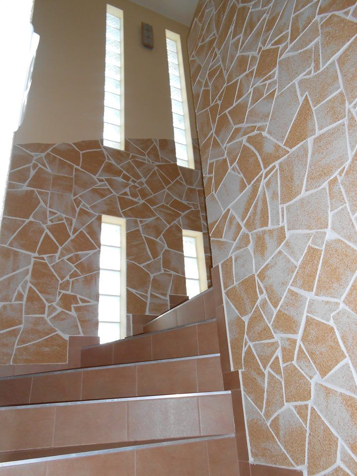 Balcony In Marble Wall : Images about indoor stone wall with delap flexible