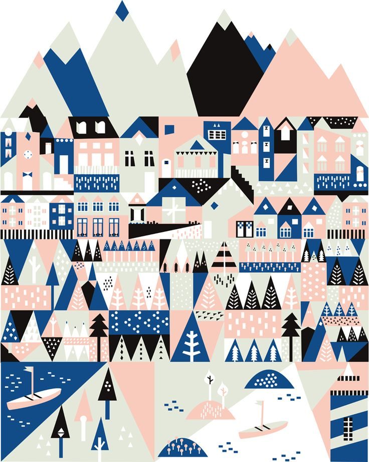Make your own Scandinavian village – Saskia Rasink   http://www.saskiarasink.nl