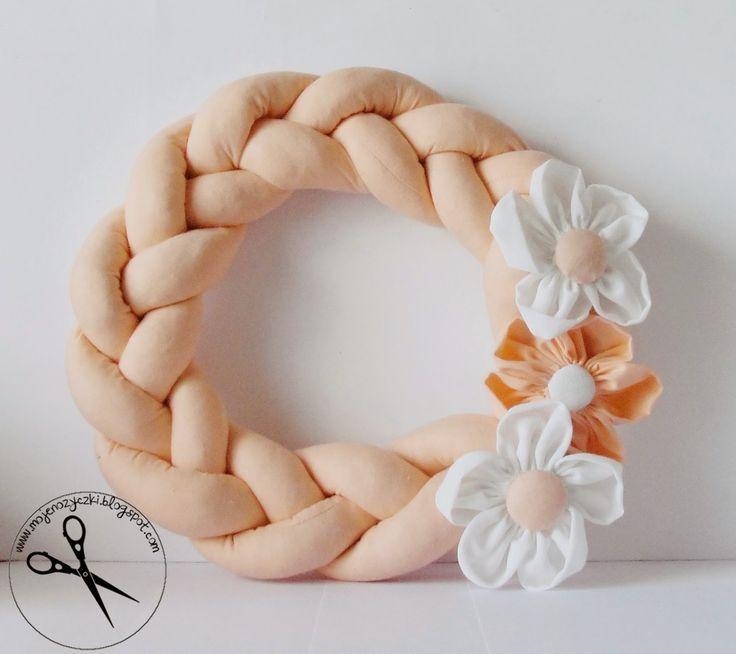 Wiosenny wianek sew spring wreath