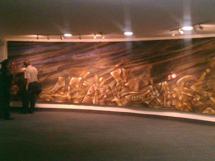 Un breve visita a mi mural. WTC DF, México