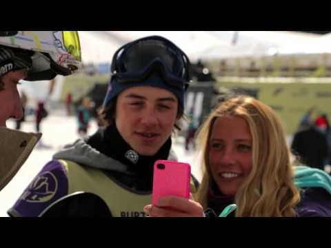Riders get ready for World Snowboard Tour Finals at the Burton US Open 2013