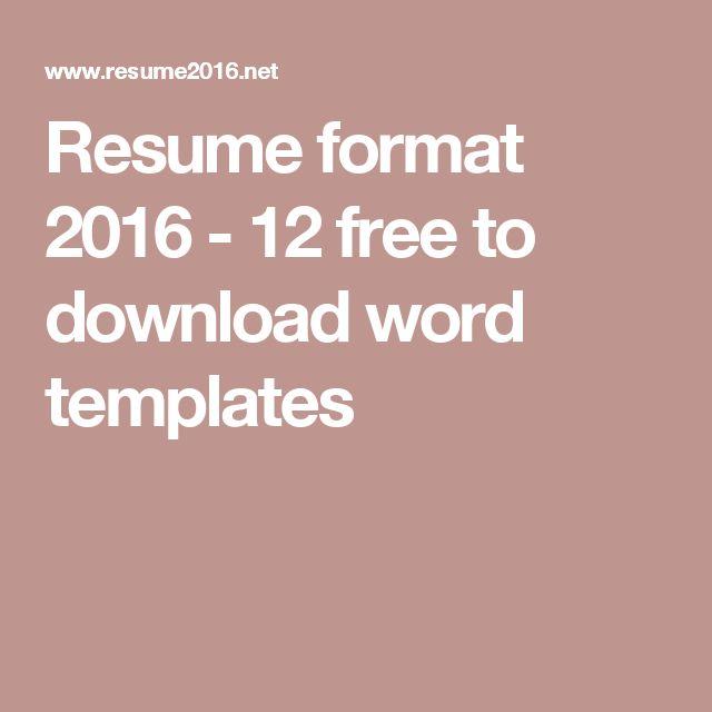 Más de 25 ideas increíbles sobre Formato más reciente del - utsa resume template