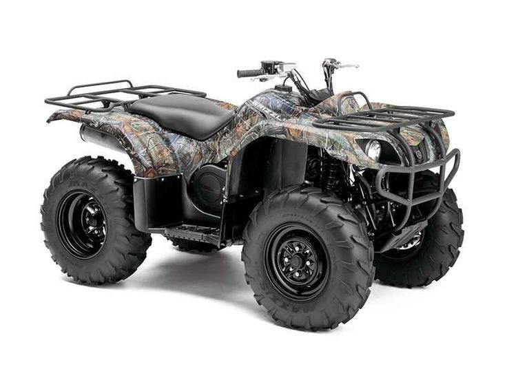 New 2014 Yamaha Grizzly 350 Auto. 4x4 Camo ATVs For Sale in Alabama. 2014 Yamaha Grizzly 350 Auto. 4x4 Camo, CALL 256-650-1177 TO SAVE $$$ 2014 Yamaha® Grizzly 350 Auto. 4x4 Camo Mid-Size Stance, Full-Featured Skill Set Boasting 348cc of air-cooled, bullet-proof performance, the Grizzly 350 is assembled in the U.S.A. and comes prepared with Ultramatic automatic transmission and On Command 2WD/4WD. Key Features May Include: The power-packed, highly reliable Grizzly 350 Automatic 4x4 solid…