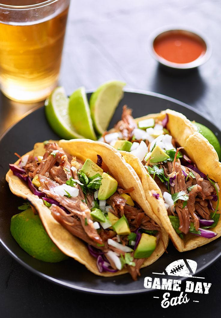 Be a halftime hero with this tasty pulled pork recipe. Click through to see recipe.