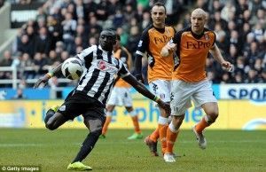 Muslim footballer Papiss Cisse may be forced to quit Newcastle United because of a row about the club's new sponsorship deal with payday loan firm Wonga. The Senegalese striker, who is estimated to earn in the region of £40,000 a week, trained on his own on his return from his summer break last week after [...]