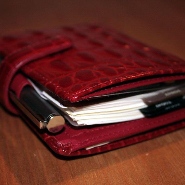 Filofax-Mini-Amazona-Red-Pen