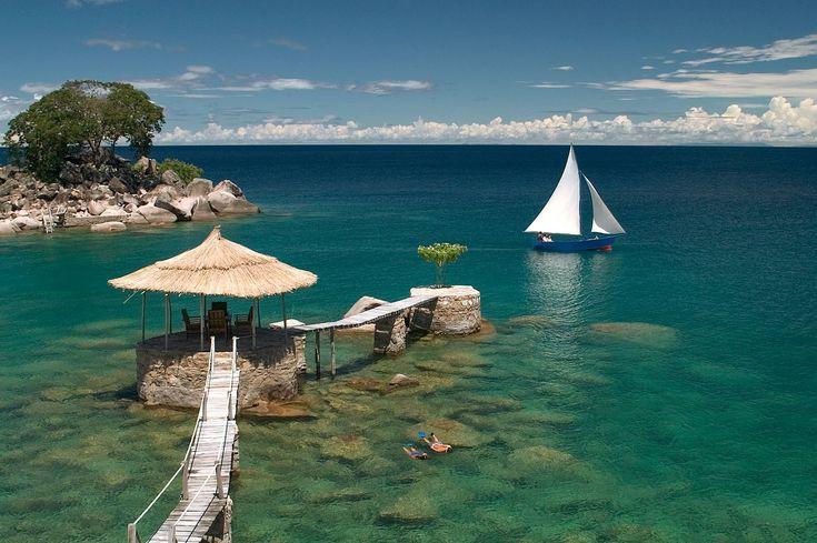 Lake Malawi - Malawi.