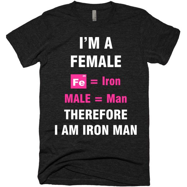 I'm Female So I am Iron Man,Fitness tank tops,Motivational... ($20) ❤ liked on Polyvore