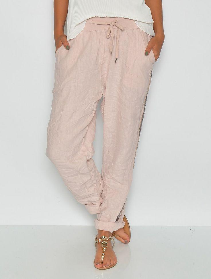 Larkyn sweatpants berry - Jeans/Pants - UNDERDELE - TØJ