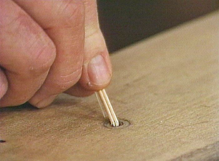 How to Fix Stripped Screw Holes in Wood