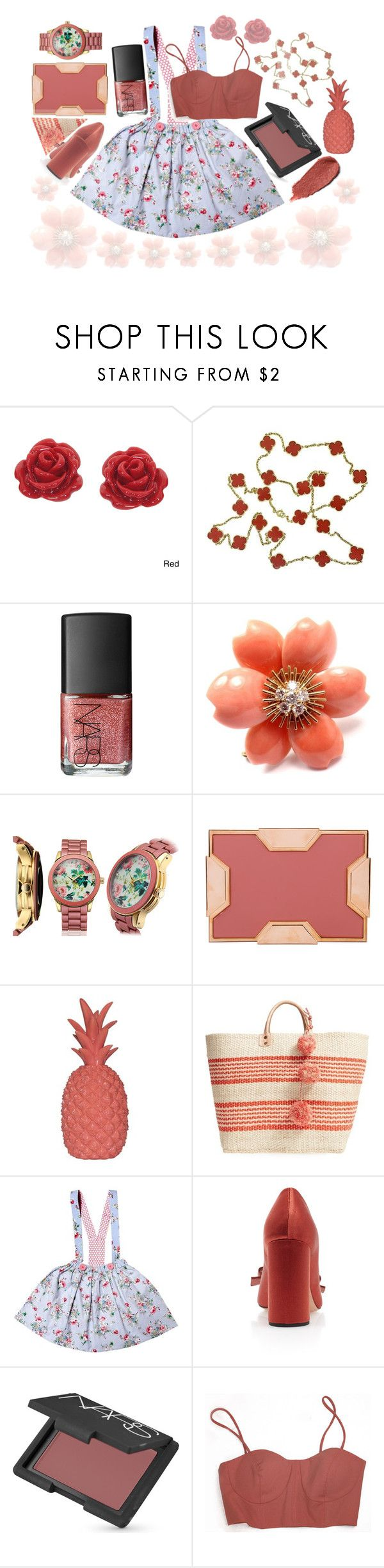 """""""THICK"""" by galaxy-moon-stars ❤ liked on Polyvore featuring Eternally Haute, Van Cleef & Arpels, NARS Cosmetics, Picard & Cie, Lee Savage, Mar y Sol and Kjaer Weis"""