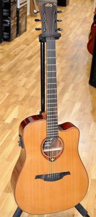Lag T100DCE NAT/ Lâg T100 DCE Dreadnought Electric Acoustic Guitar - New! | Musical Instruments, Guitars & Basses, Electro-Acoustic Guitars | eBay!