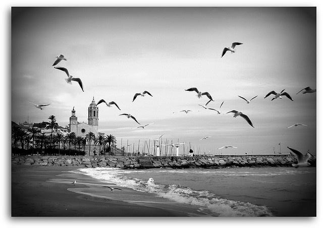 Sitges Playa invierno