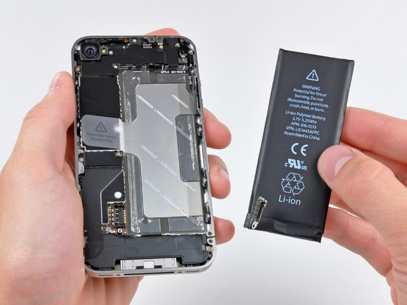 iPhone 4 Battery Replacement because stupid Apple had planned battery failure