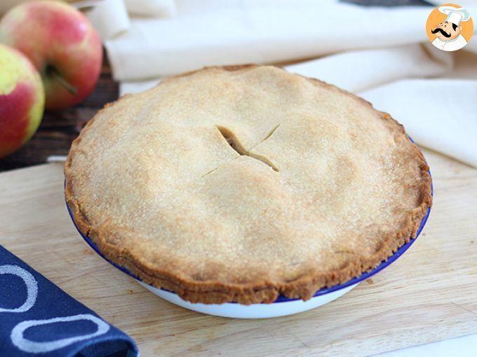 Apple Pie Pastel De Manzana Inglés Receta Petitchef Receta Pie De Manzana Receta Pastel De Manzana Manzana