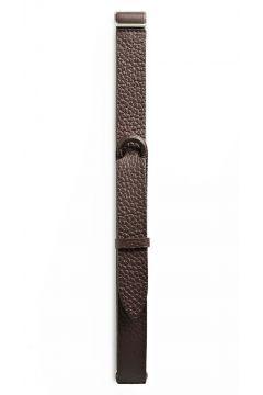 Orciani - Cintura marrone in pelle martellata #modasto #giyim #erkek https://modasto.com/orciani/erkek/br6404ct59