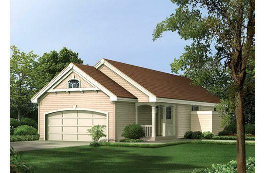Casa suburbana de una planta, tres dormitorios y 91 metros cuadrados