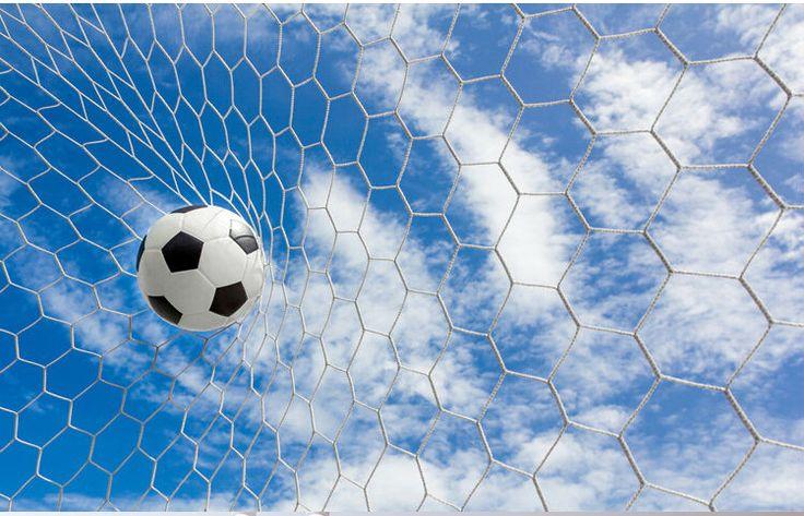 Esporte Tileable Papel De Parede Colorido: Tema Futebol Papel De Parede Adesivo Papel De Parede