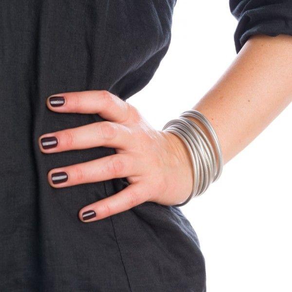 Baan - Bracelets Bouddhistes SILVER Fin