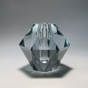 asta stromberg strombergshyttan diamond vase 9647
