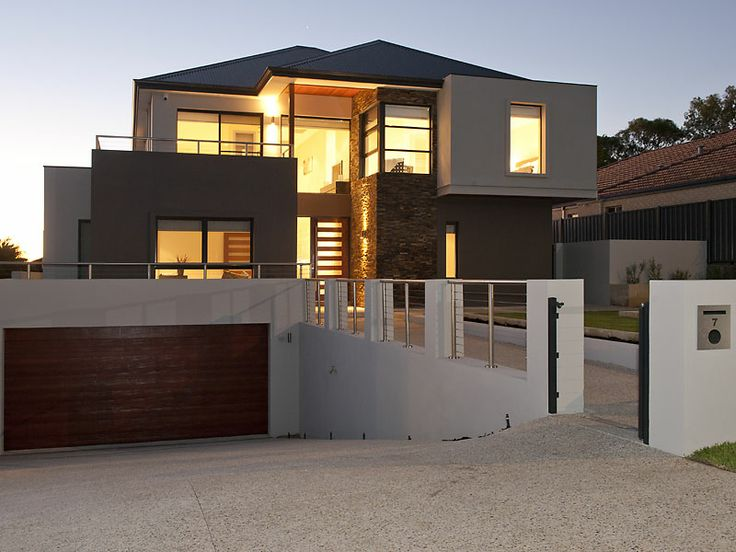 A great looking house built in Western Australia using Shanes Stainless posts & wires. www.shanesstainless.com.au