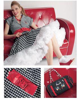petticoat schnittmuster kostenlos