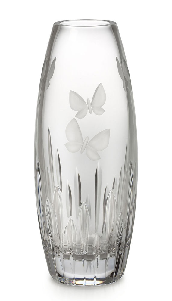 Beautiful Waterford Crystal Butterfly Vase 28cm Products I Love Pinterest Beautiful Vase