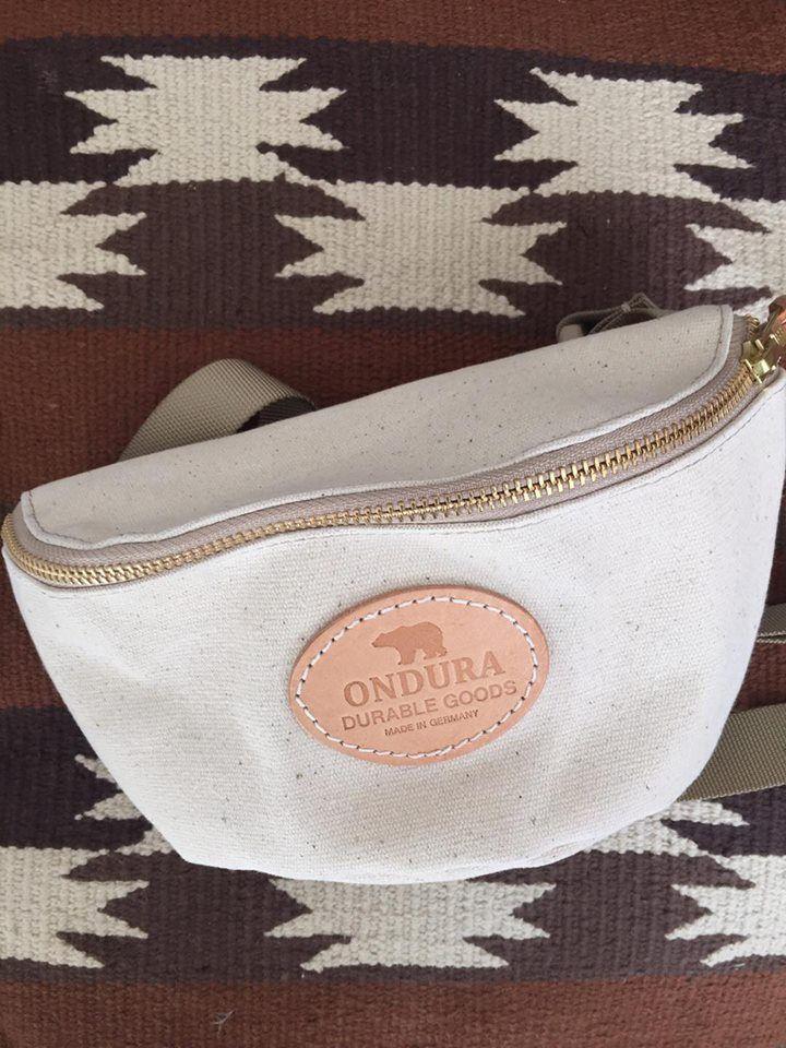 ONDURA durable goods  Canvas Hip Bag