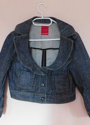 Kup mój przedmiot na #vintedpl http://www.vinted.pl/damska-odziez/marynarki-zakiety-blezery/17691639-vero-moda-jeans-kurtka-bolerko-38