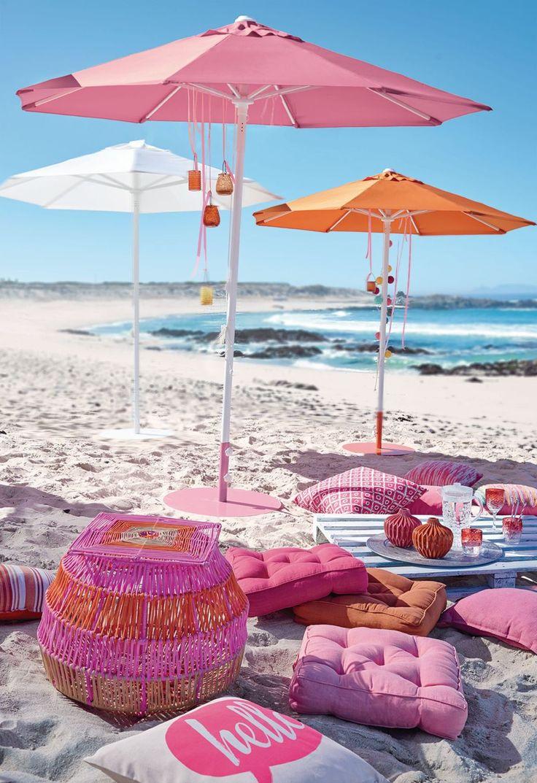 Schirmständer, pulverbeschichtetes Aluminium | Sonnenschutz | Outdoor | Möbel | Living