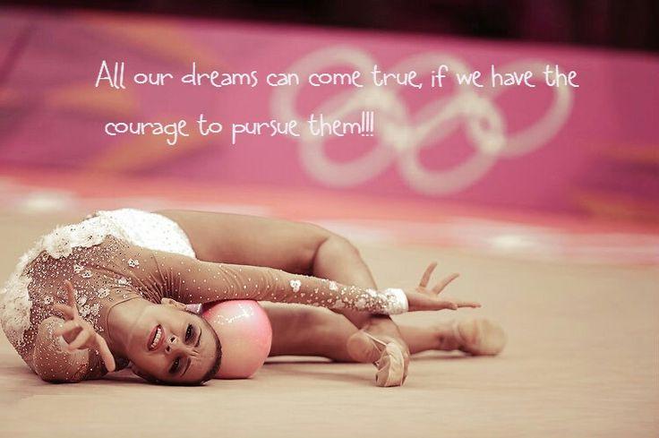 Rhythmic gymnastics quote | Ritmica nel♥️ | Pinterest ...