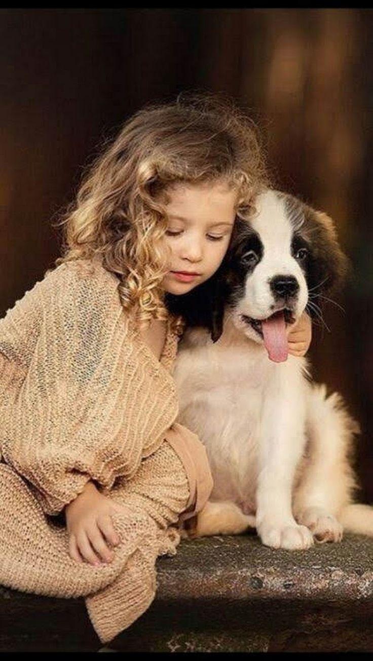 Собаки фото красивые и смешные с детьми, картинках друзья ангелов