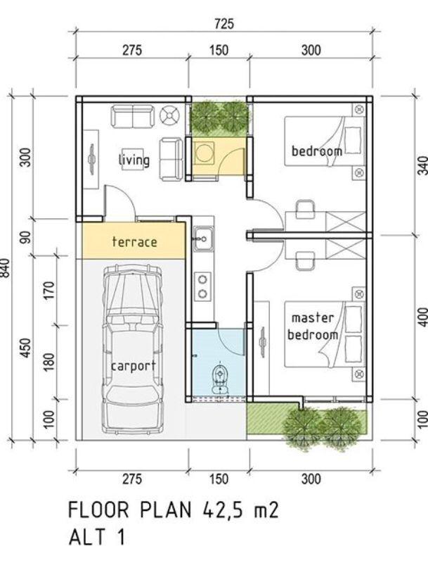 25x22 House Floor Plan Indian House Plans House Floor Plans Floor Plans