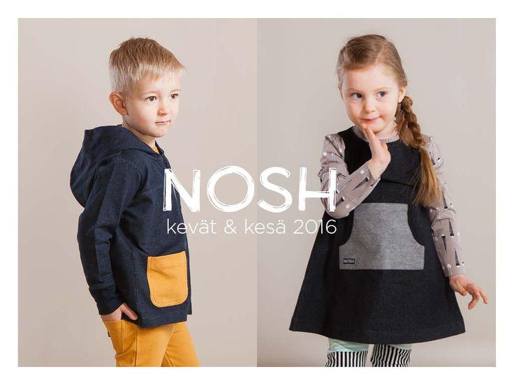 Ihastuttava kevät & kesä 2016 mallisto nyt saatavilla NOSH vaatekutsuilta ja edustajilta. nosh.fi/lookbook