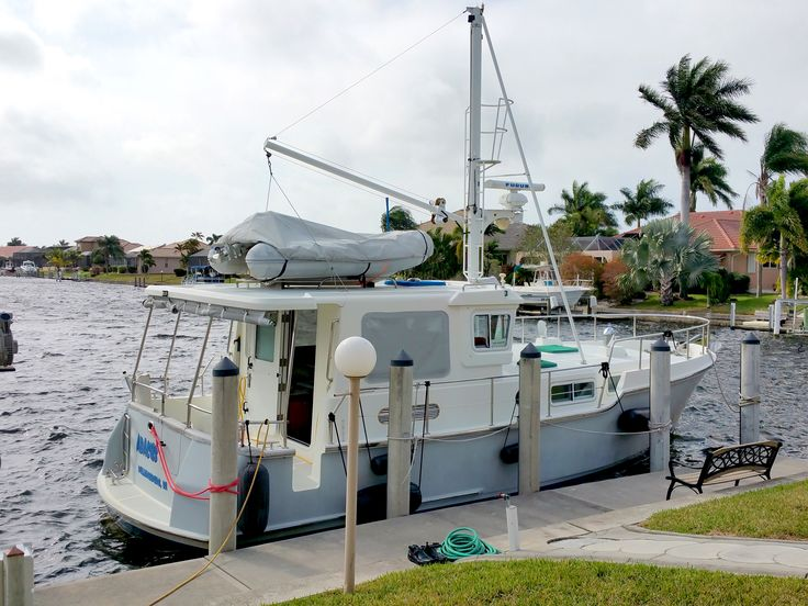 Nordhavn 35 trawler for sale