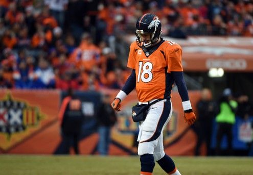 Peyton Manning's teammates were unaware of the severity of his thigh injury -- #ProFootballDenverBroncos