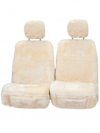 I think it'd be so cool to get sheepskin seat covers.  It gets extremely cold during the winters here.  Using this would be a lot better than the cold leather I'm used to.