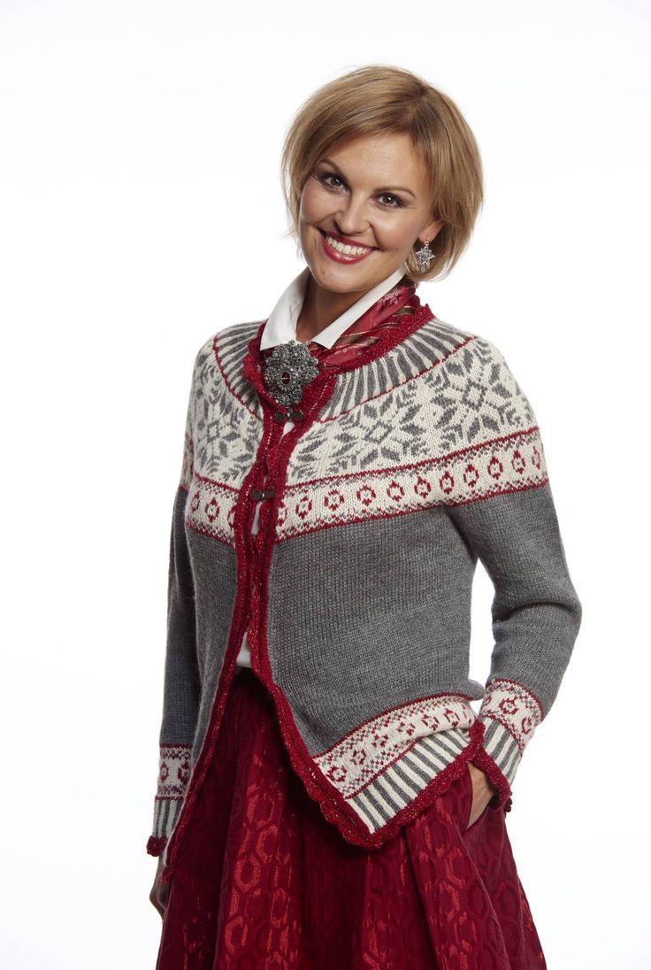 DENISEKOFTEN - Published in Familien no 25/2014. Knitted in BabySilk from Du Store Alpakka.