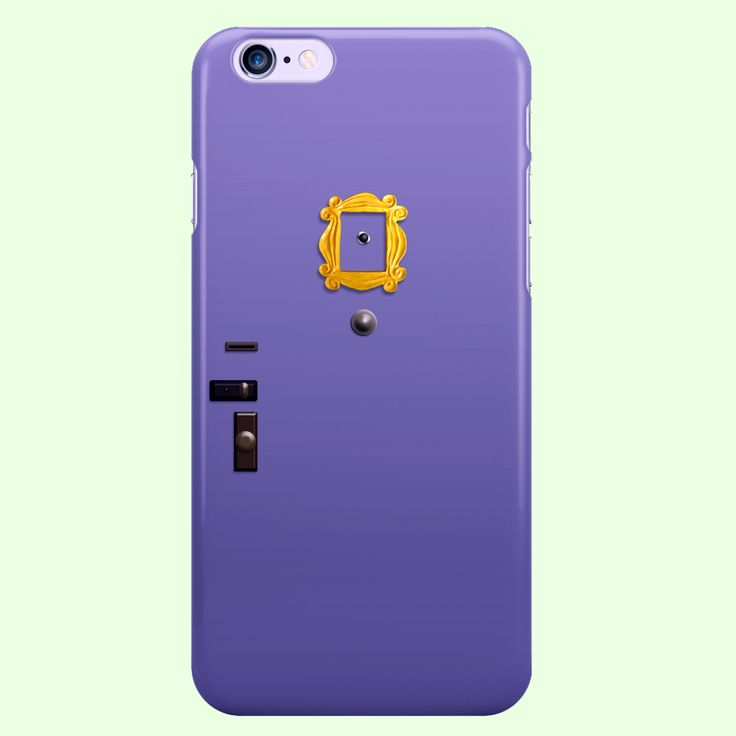 "Friends TV Show ""MONICA'S DOOR"" iPhone 4, 4S, 5, 5S, 5C, 6, 6S, 6 Plus, 6S Plus Custom Case"