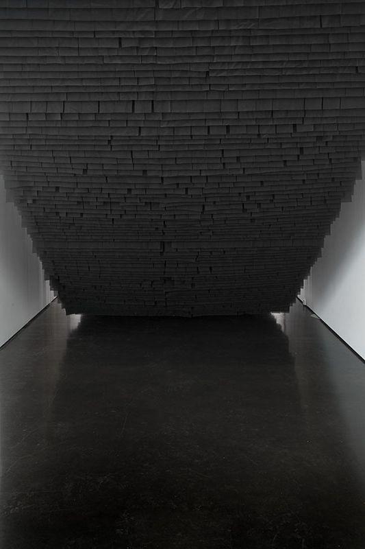 Katarzyna Mirczak's Abysses exhibition, installation view at Kasia Michalski Gallery