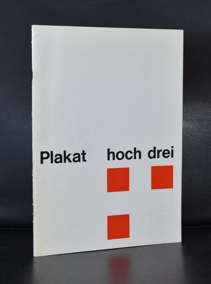 Muller-Brockmann, Hofamnn, Piatti # PLPAKAT HOCH DREI # 1969, nm