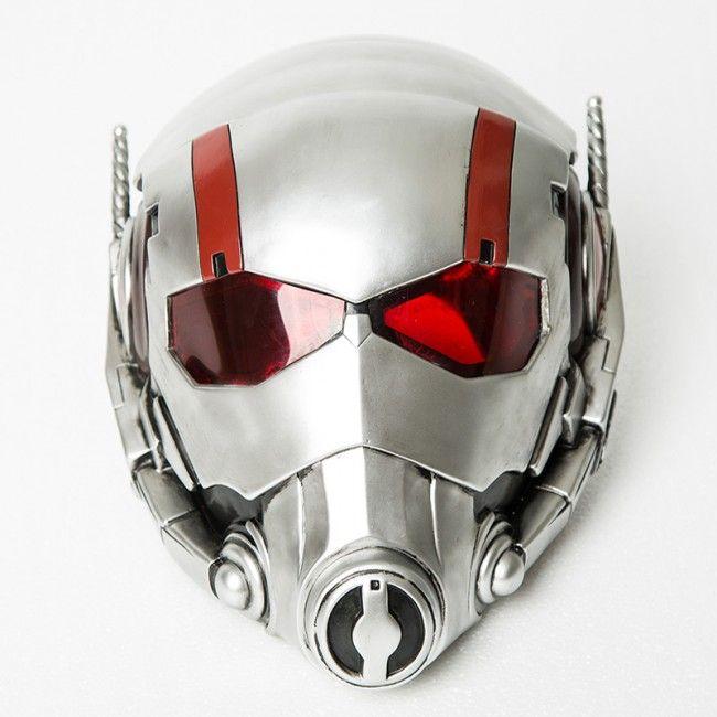 2015 New Marvel Comics Movie Ant-Man Cosplay Ant-Man Helmet Mask Scott Lang Helmet Mask Customize