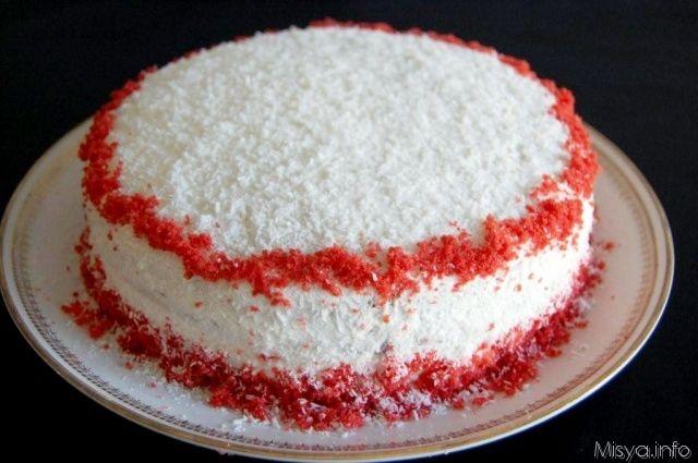 Red Velvet Cake, scopri la ricetta: http://www.misya.info/ricetta/red-velvet-cake.htm
