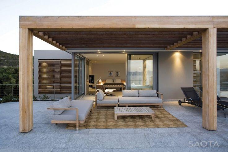 #Véranda #bois ! Quelle belle idée pour aménager sa #terrasse ;-)